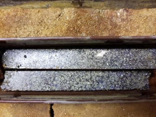 Bleikvassli-Mineralized drill core